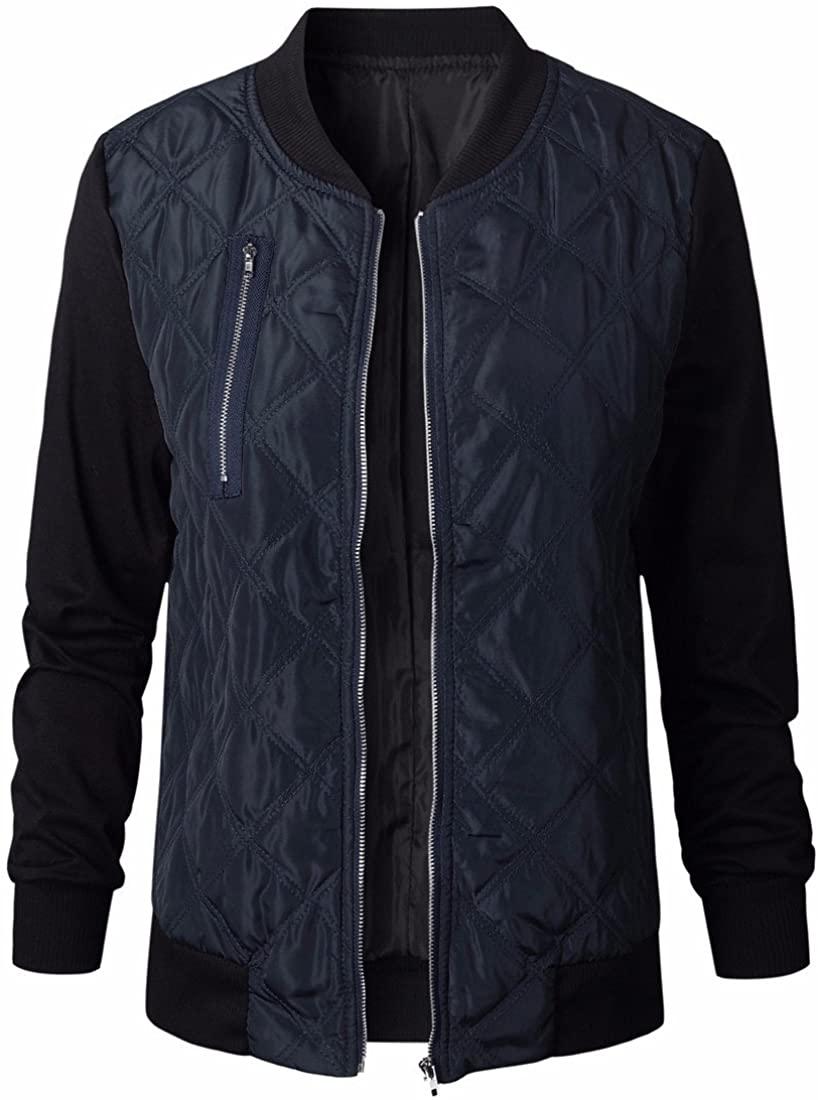 Fashion Long Sleeve Women Stand Collar Zipper Jacket Outwear Winter Cotton Coats ¡