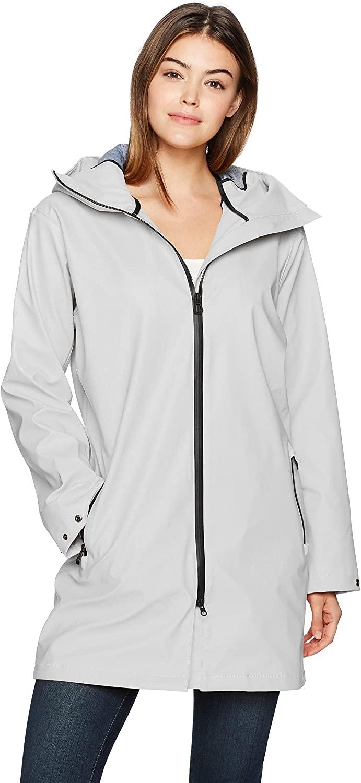 Helly-Hansen Women's Copenhagen Raincoat, Nimbus Cloud, Small