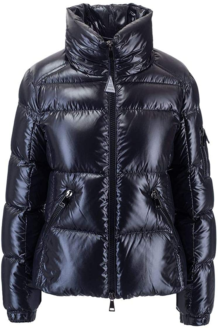Moncler Luxury Fashion Woman 1A59300C0064999 Blue Polyamide Down Jacket | Fall Winter 20