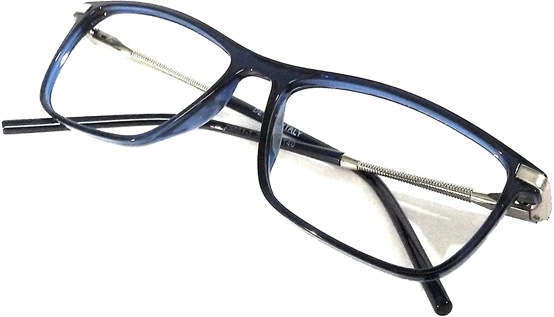 Amar lifestyle Eye frame plastic rectangular 52 mm blue unisex_alacfrpr4600