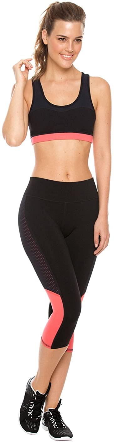 Flexmee Women Yoga Workout Activewear Set 2 Pieces Conjunto Deportivo de Mujer