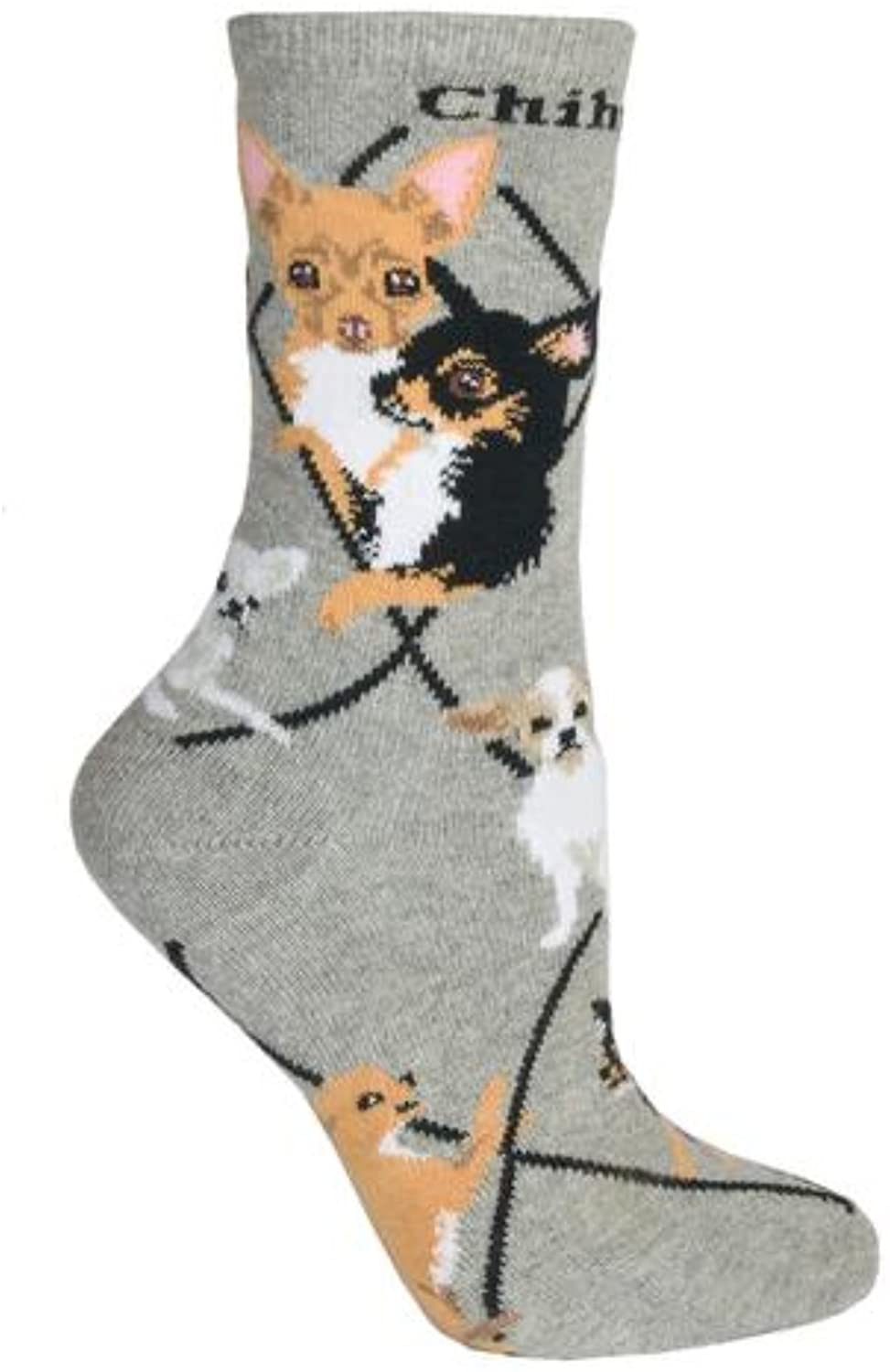 Wheelhouse Designs Women's Chihuahua Socks Size 9-11