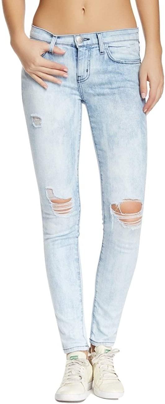 Current/Elliott Women's The Ankle Skinny Jean, Old Blue Repair, 27