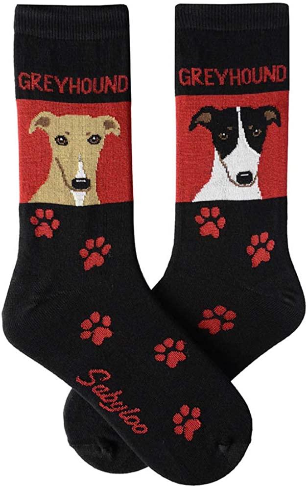 Greyhound Crew Socks Unisex