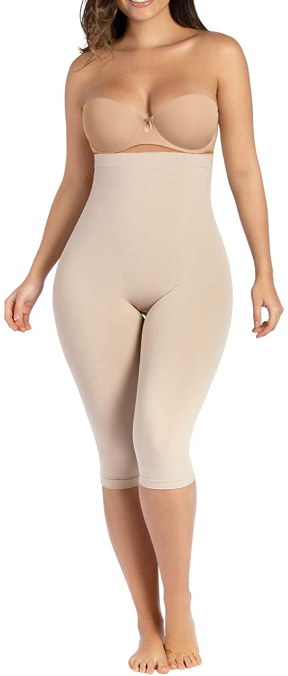 CURVEEZ Compression Pant Womens Capri Anti Cellulite Leggings Fajas Moldeadoras