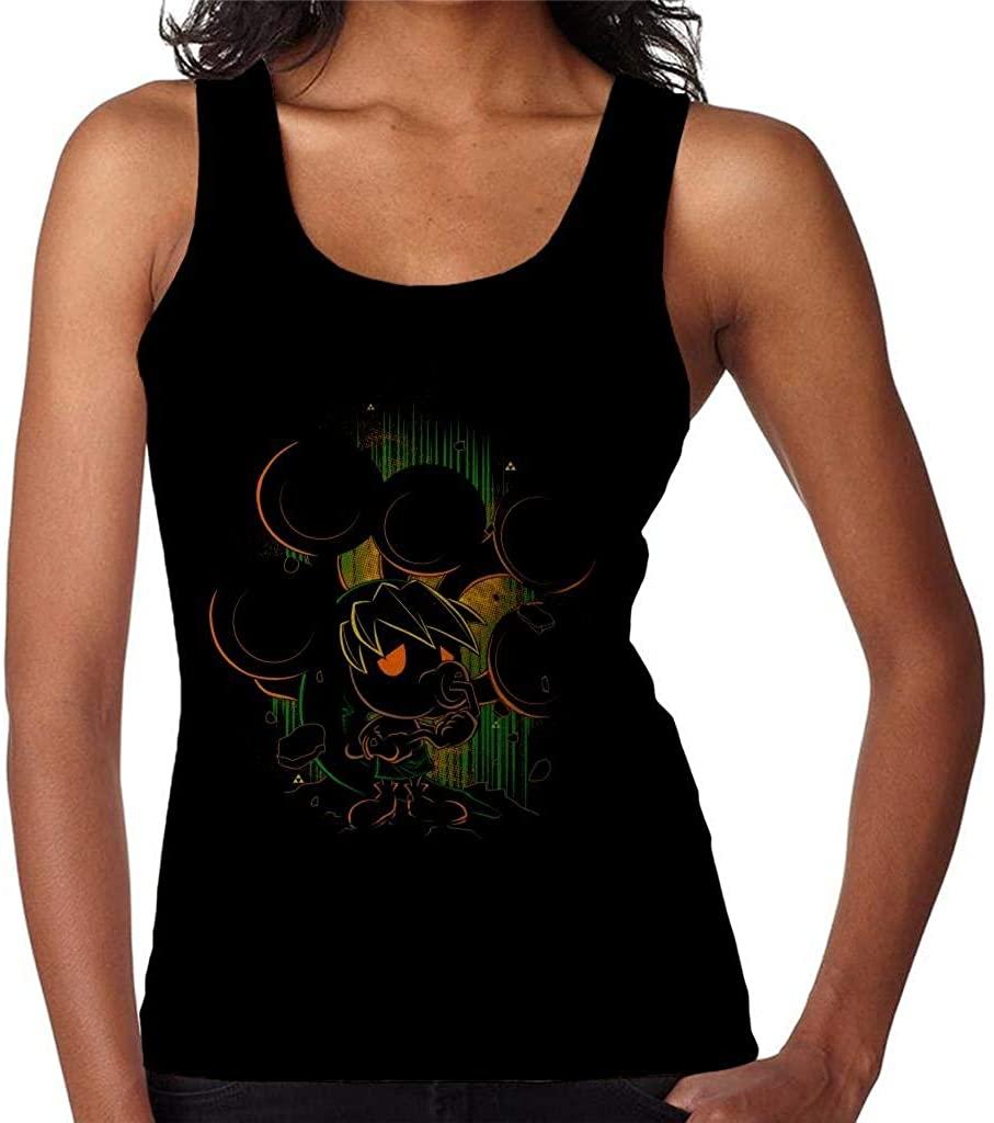 SHGNKSG Legend of Zelda Shadow of The Deku Women's Vest
