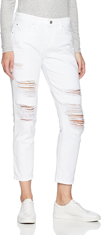 Joe's Jeans Women's Lover Midrise Boyfriend Crop Jean