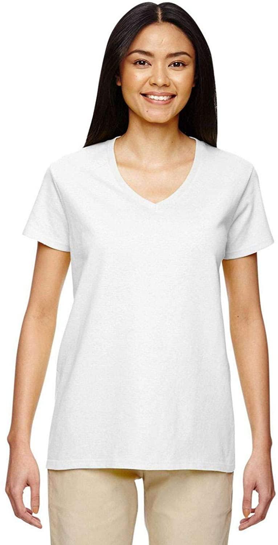 Heavy Cotton 5.3 oz. V-Neck T-Shirt (G500VL)
