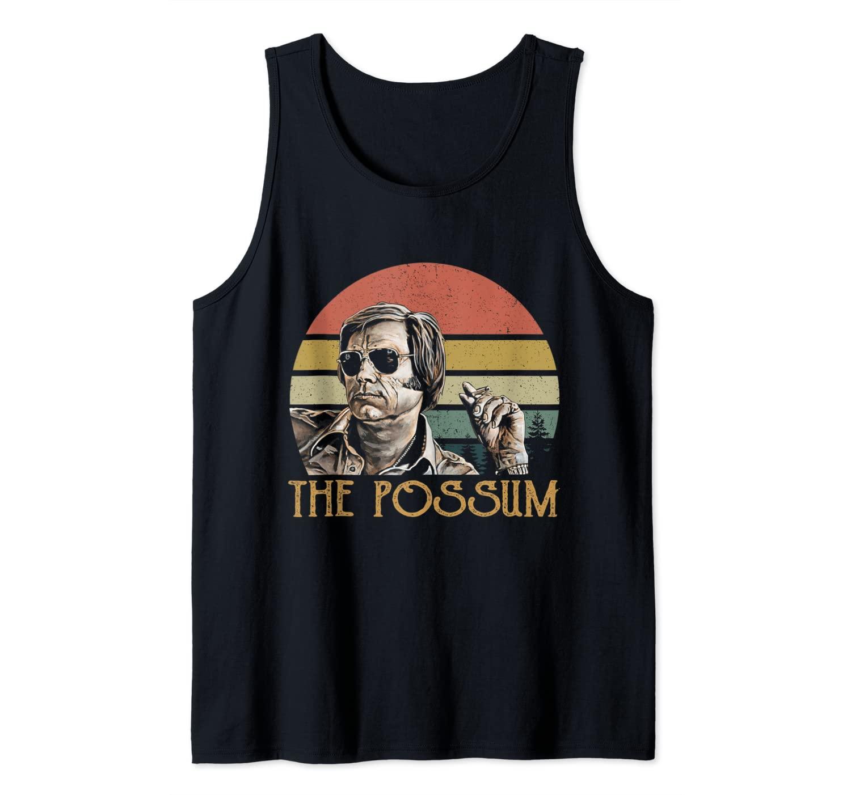 The Possum Love Country Music Vintage George tshirt Jones Tank Top