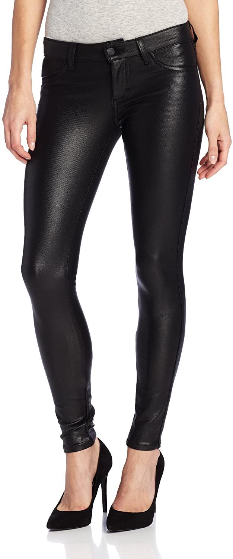 Siwy Women's Hannah Wet-Look Slim Cropped Jean