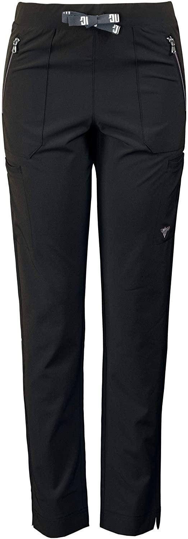Medgear Women's Superflex Activewear Stretch Scrub Pant, Slim Leg & Zipper Pockets