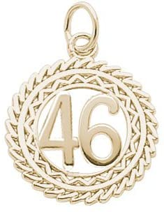 Rembrandt Charms Number 46 Charm