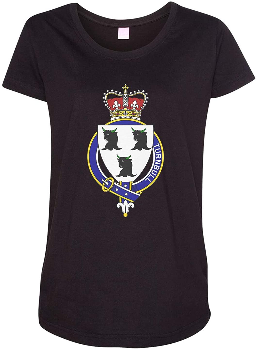 Tenacitee Ladies Scottish Garter Family Turnbull Maternity Shirt