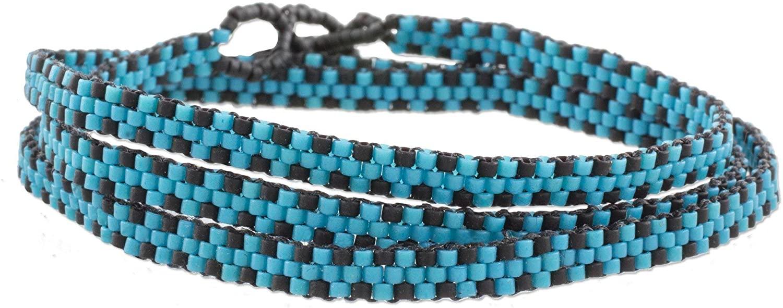 NOVICA Glass Beaded Bracelet, 22