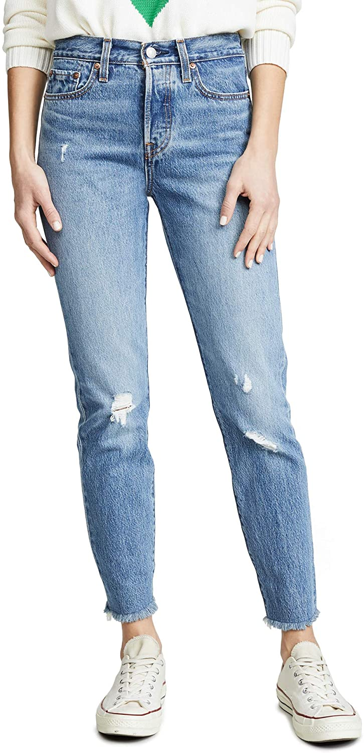 Levi's Women's Wedgie Icon Jeans, Truth Unfolds, Blue, 27