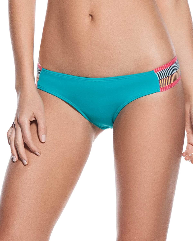 OndadeMar Womens Every Day in Color Embelished Low Rise Bikini Bottom
