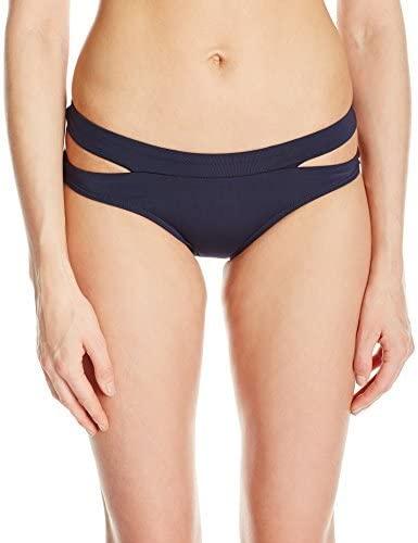 Jets by Jessika Allen Women's Jetset Banded Side Split Regular Bikini Bottom