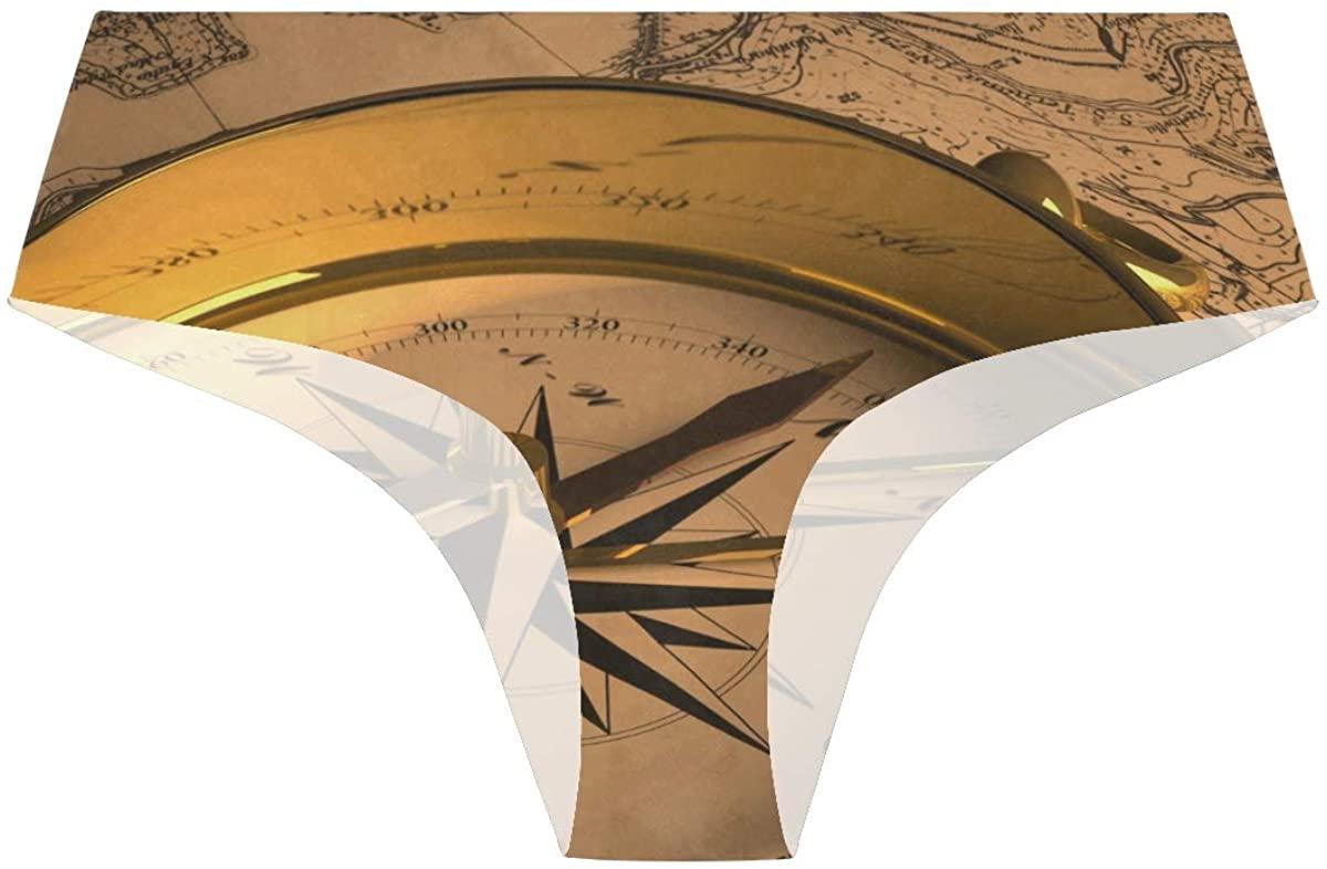 Read Compass Womens Hipster Panties Seamless Cheekini Panty Bikini Underwear