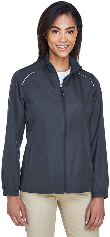 Ash City - Core 365 Women's Motivate Unlined Lightweight Jacket, Carbon, X-Large