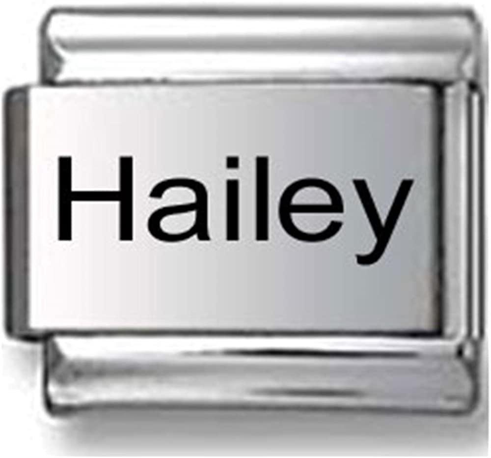 Hailey Laser Italian charm