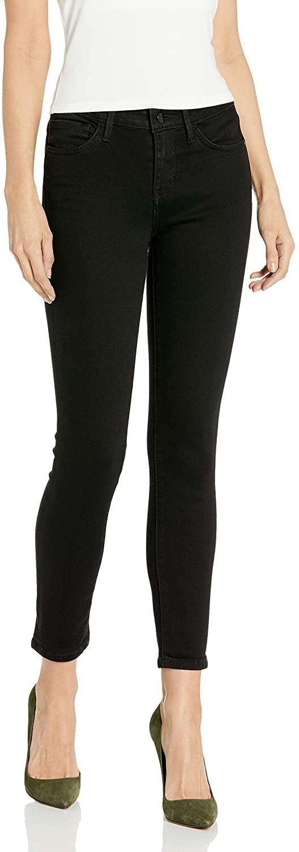 Sam Edelman Women's Kitten Mid Rise Straight Jean