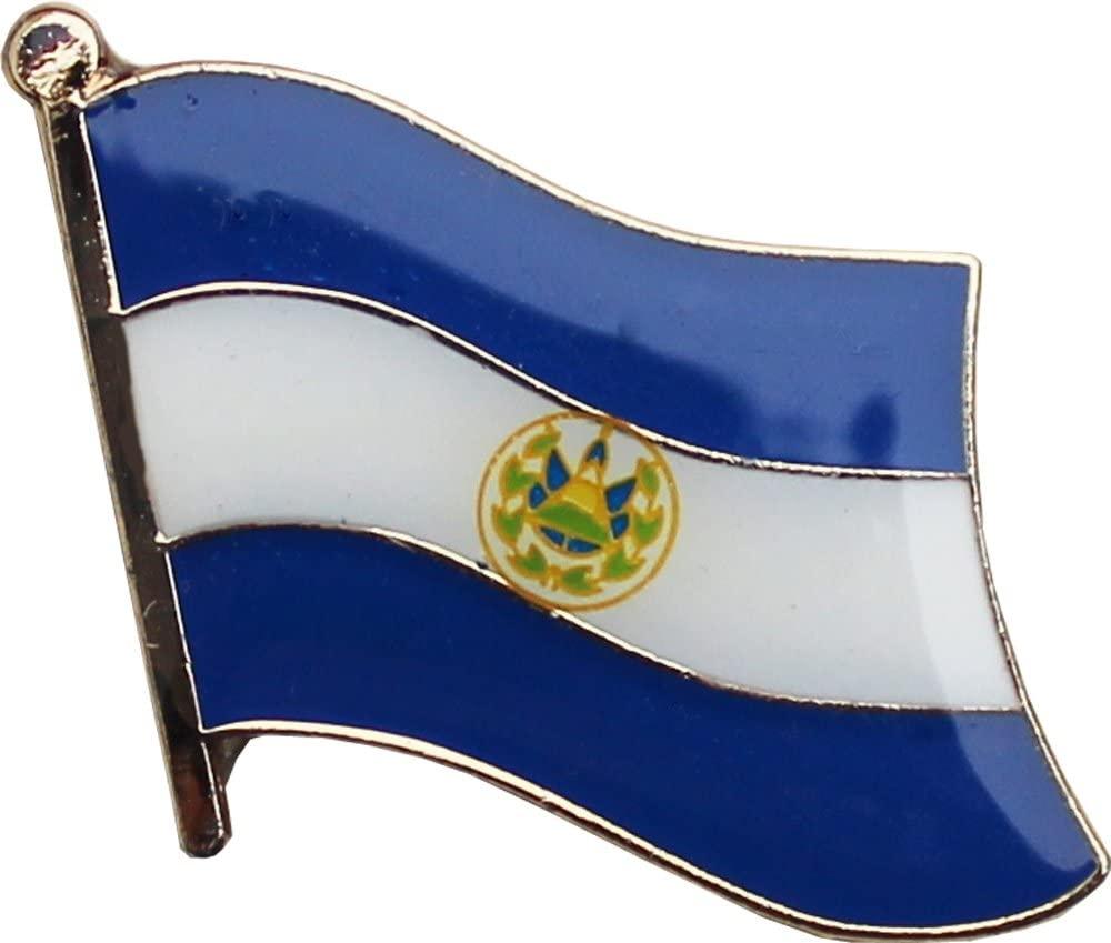 Flagline El Salvador - National Lapel Pin