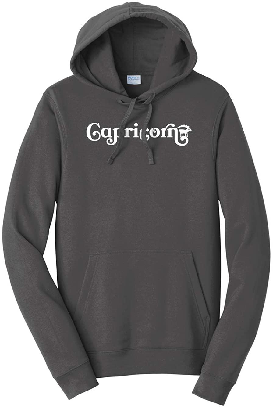Tenacitee Unisex Capricorn Icon Hooded Sweatshirt