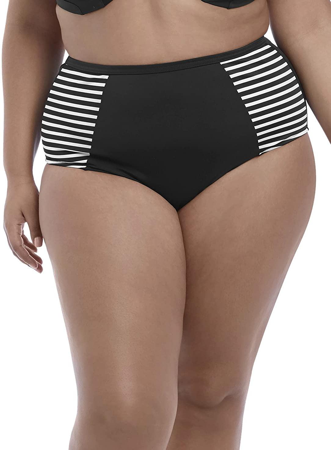 Elomi Plus Size Malibu Days High-Waist Bikini Bottom