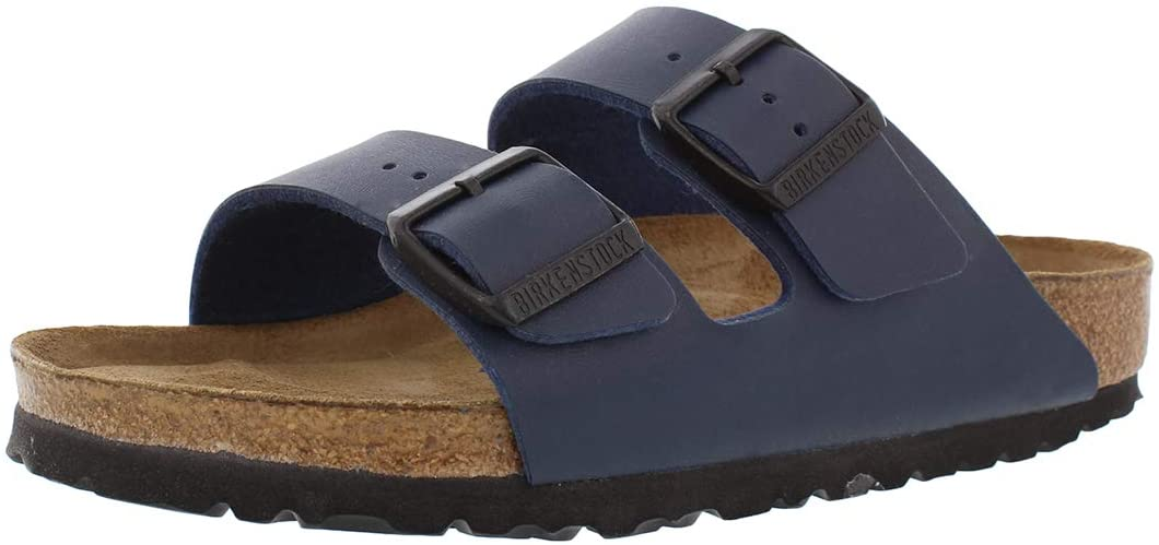 Birkenstock Unisex Arizona Navy Sandals - 11-11.5 B(M) US Women/9-9.5 B(M) US Men