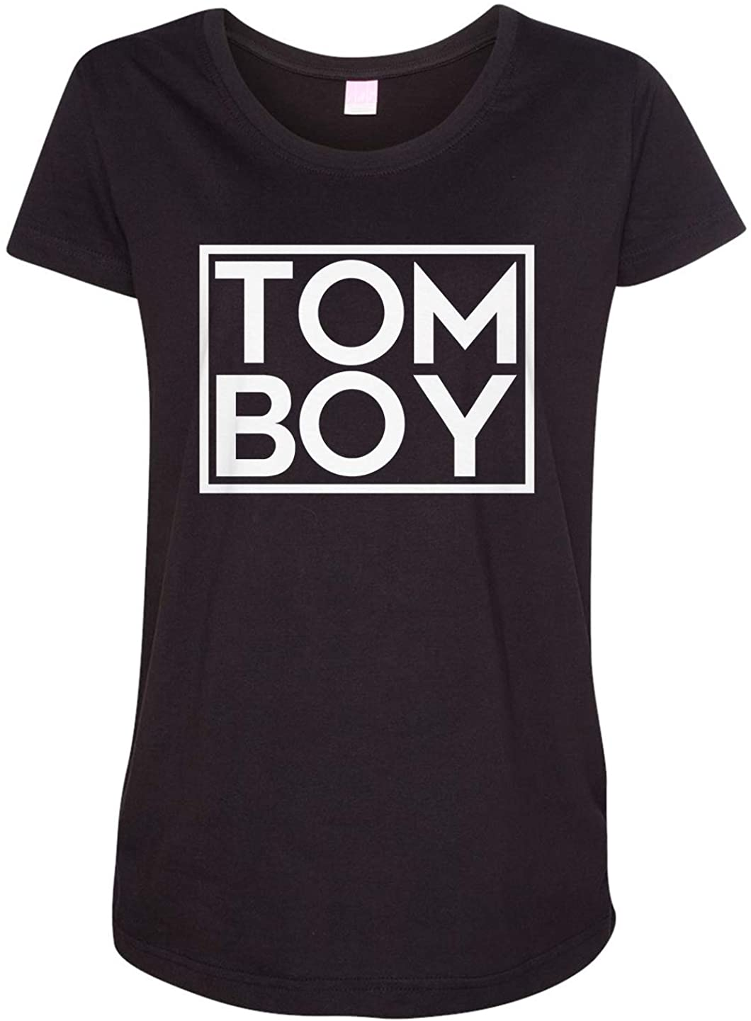 Tenacitee Ladies Tom Boy Maternity Shirt