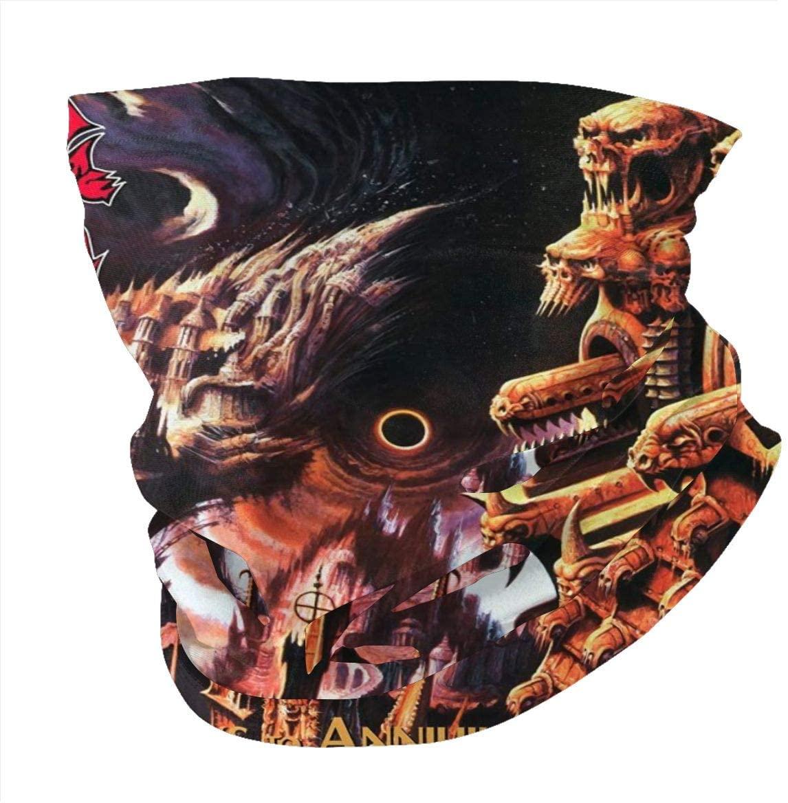ColletteKMaddox Morbid Angel Gateways to Annihilation Microfiber Neck Warmer,Printed Scarf,Windproof Sports Masks,Warm Neck Scarf,Bandanas