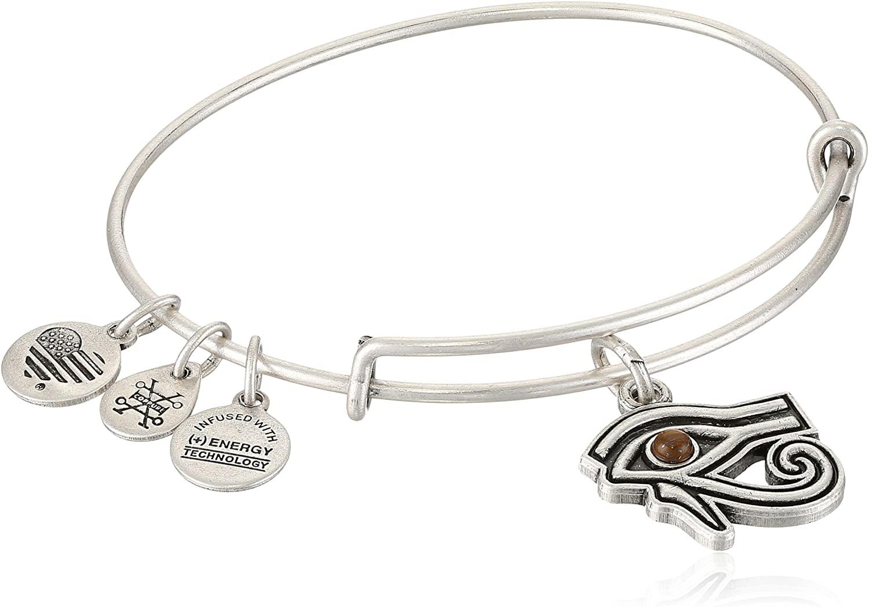 Alex and ANI Womens Eye of Horus EWB Bangle Bracelet, Expandable