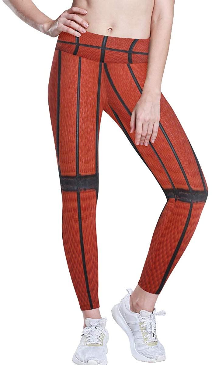 IDO High Waist Yoga Pants,Beautiful African Woman Zebra Giraffe Tummy Control Leggings for Women Girls Running Pilates Gym