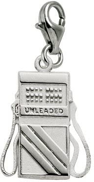 Rembrandt Charms Gas Pump Charm with Lobster Clasp