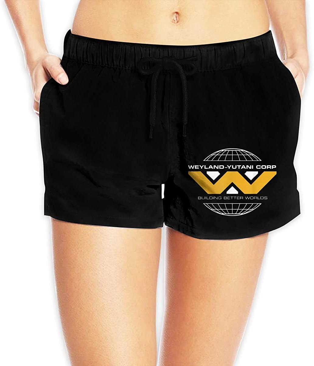 Women Sexy Hot Pants Summer Casual Shorts Weyland-Yutani Short Beach Trousers