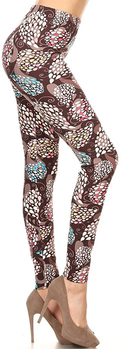 Leggings Depot Women's Ultra Soft Fashion Leggings
