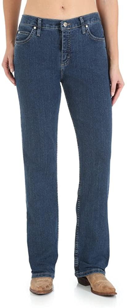Wrangler Women's As Real As Wrangler Relaxed-Fit Straight-Leg Jean