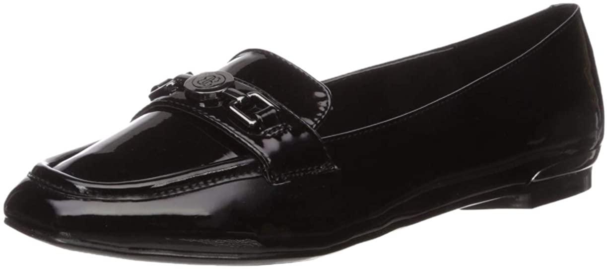 Bandolino Footwear Women's Flavia Loafer, Black, 8.5