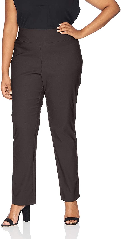 NIC+ZOE Womens Size Plus Wonderstretch Pant