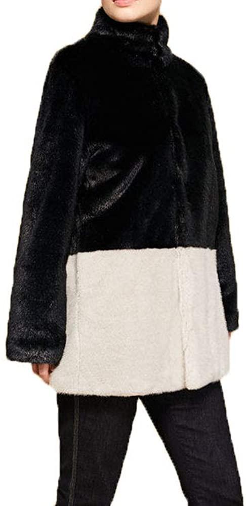 Marina Rinaldi Women's Nicole Faux Fur Coat