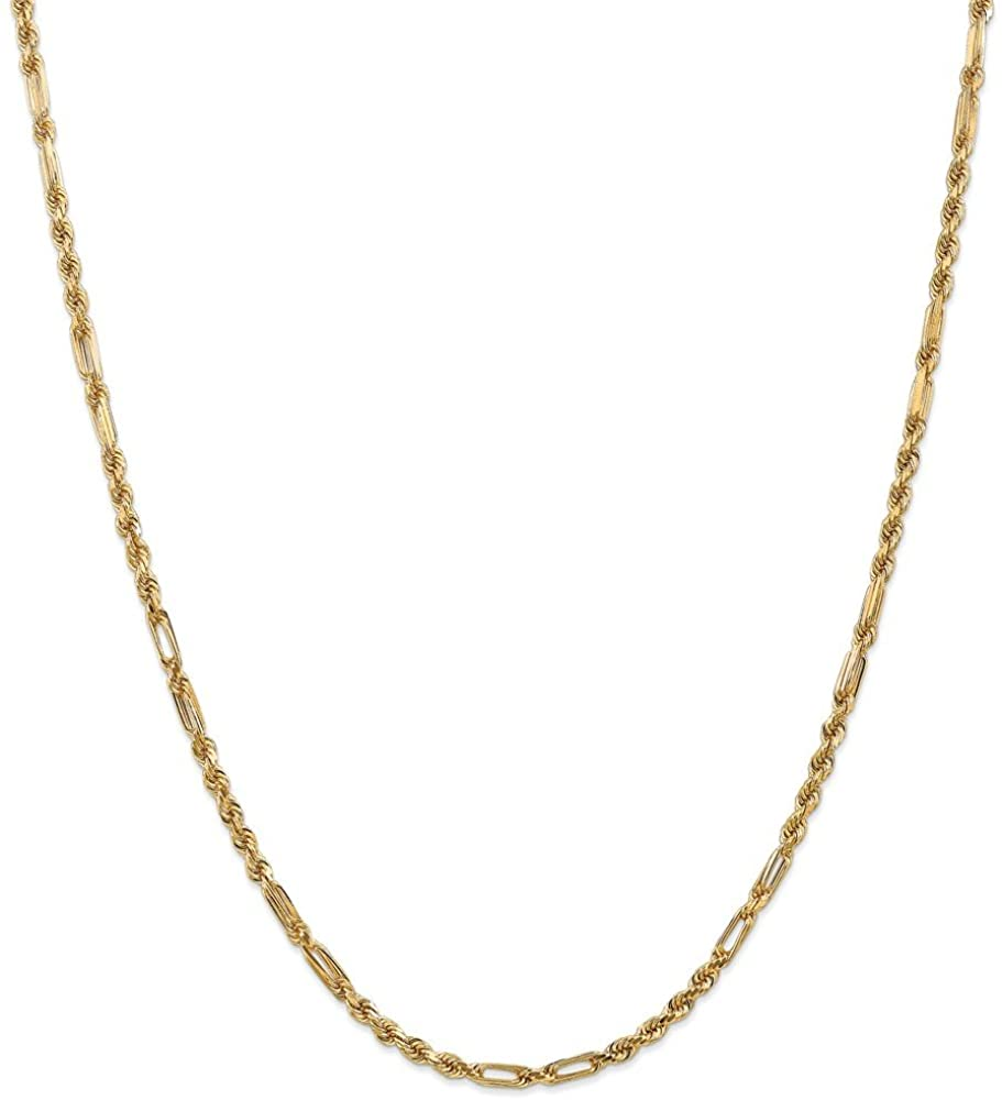 Jewelry Necklaces Chains 14k 3.0mm Milano Rope Chain