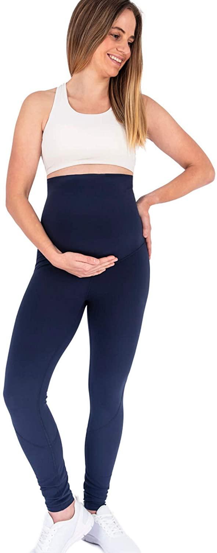 LoveMae Maternity Activewear Workout Leggings Over Belly Pregnancy Leggings