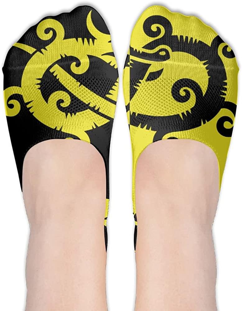 Dragon-y Womens Low Cut Socks No Show Liner Boot Sock Athletic Socks Thin Fit