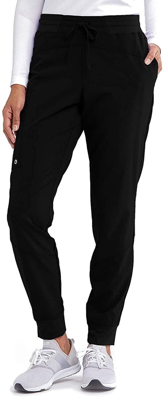 BARCO One BOP513 Women's Cargo Jogger Scrub Pant Black M Tall