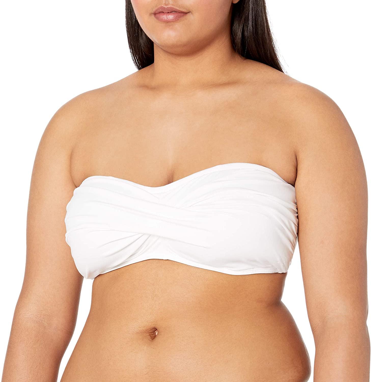 La Blanca Women's Island Goddess Bandeau Bikini Swimsuit Top