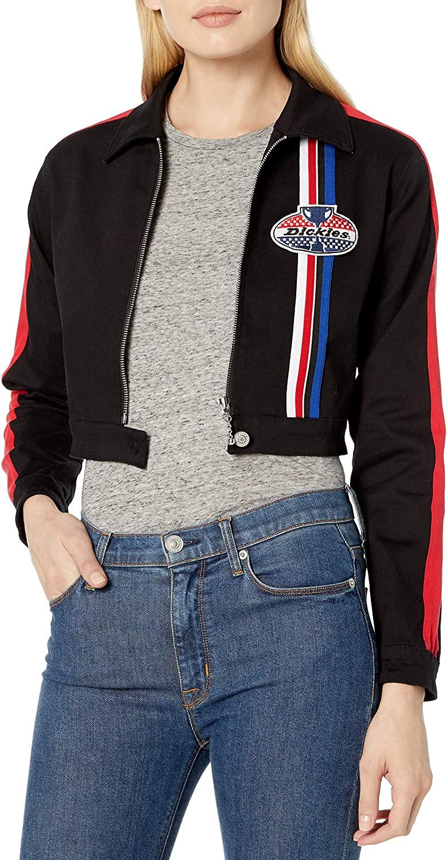 Dickies Girl Women's Racing Cropped Jacket