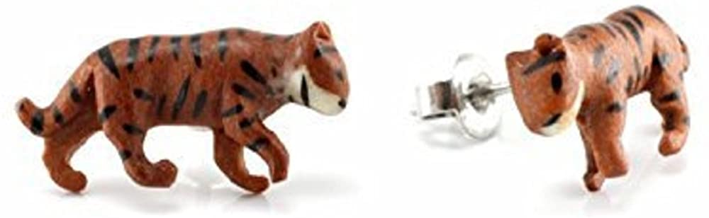 WildKlass Bengal Tiger Makerpin Earring Studs
