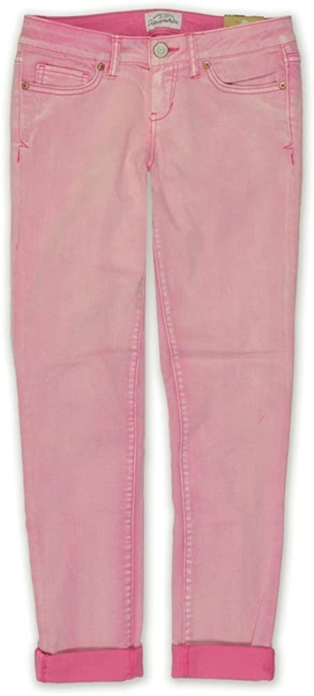 Aeropostale Womens Ashley Ultra-Low Skinny Fit Jeans
