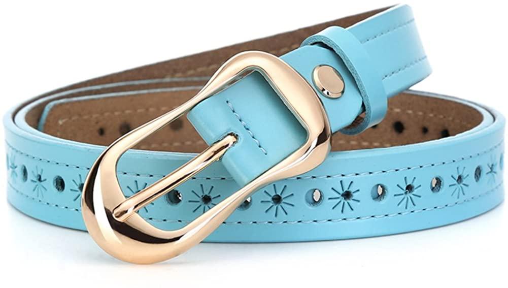 Ladies Hollow Belt,Pin Buckles Leisure Retro Decoration Jeans Belt