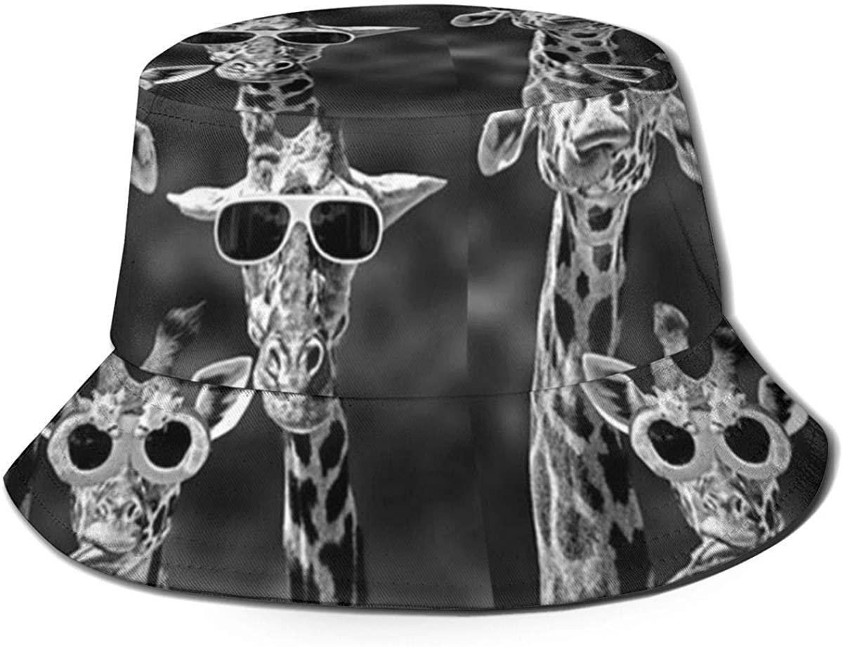 Unisex Summer Hawaiian Fisherman Hats Waterproof Packable Sun Bucket Cap Gift